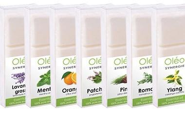 Pastilles parfumées aux huiles essentielles